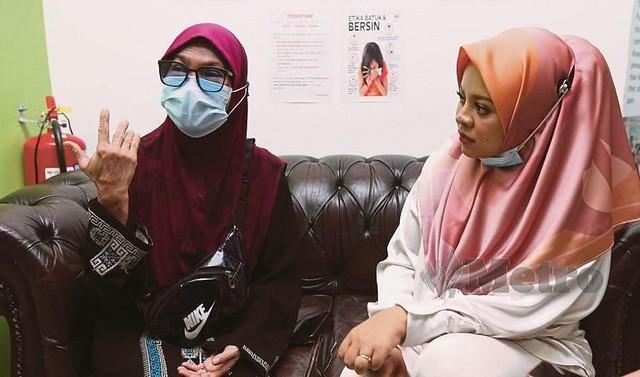 Alina Hassan Sebak Siti Sarah Taja Pembedahan Buang Katarak
