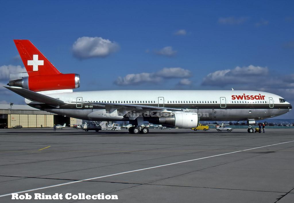 Swissair DC-10-30 HB-IHI