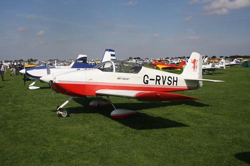 G-RVSH Vans RV-6A [PFA 181A-13026] Sywell 010918