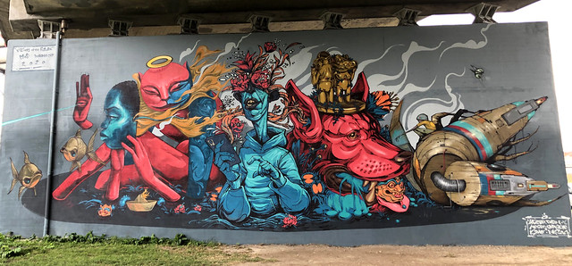 Graffiti in Dordrecht