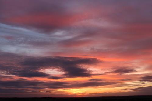 royston sunset hertfordshire evening therfieldheath red orange blue clouds sky england unitedkingdom uk canoneos750d