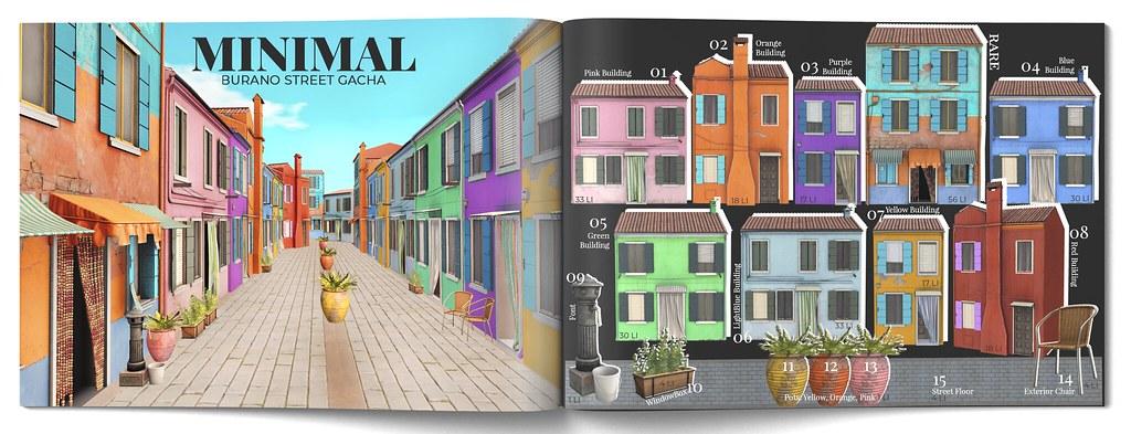 MINIMAL – Burano Street Gacha