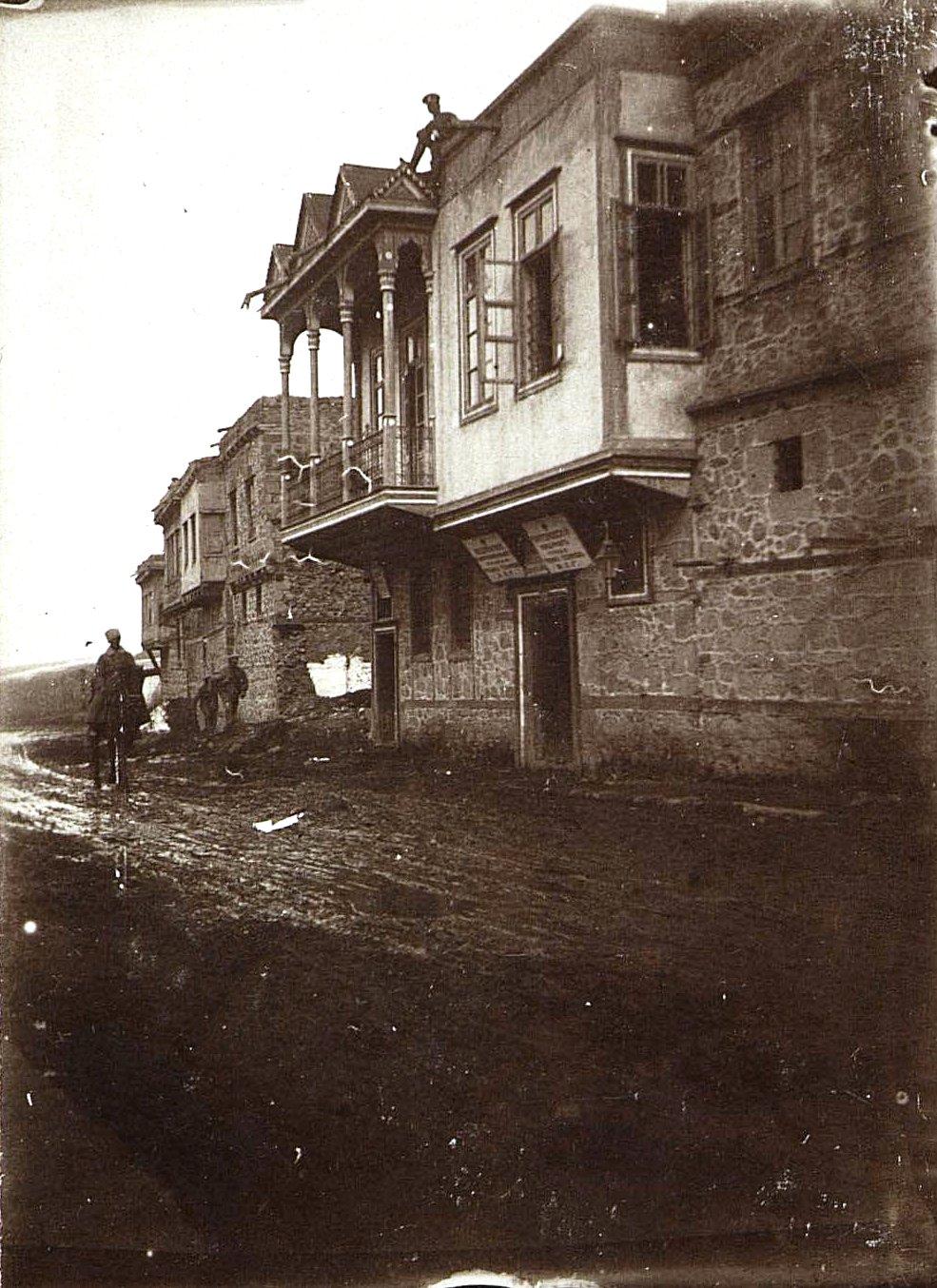 Эрзерум. Улица в городе