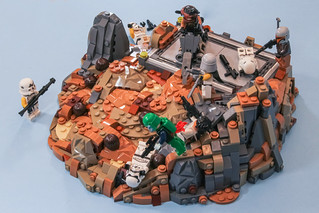 Showdown on the Rock - a build for Eurobricks Factions