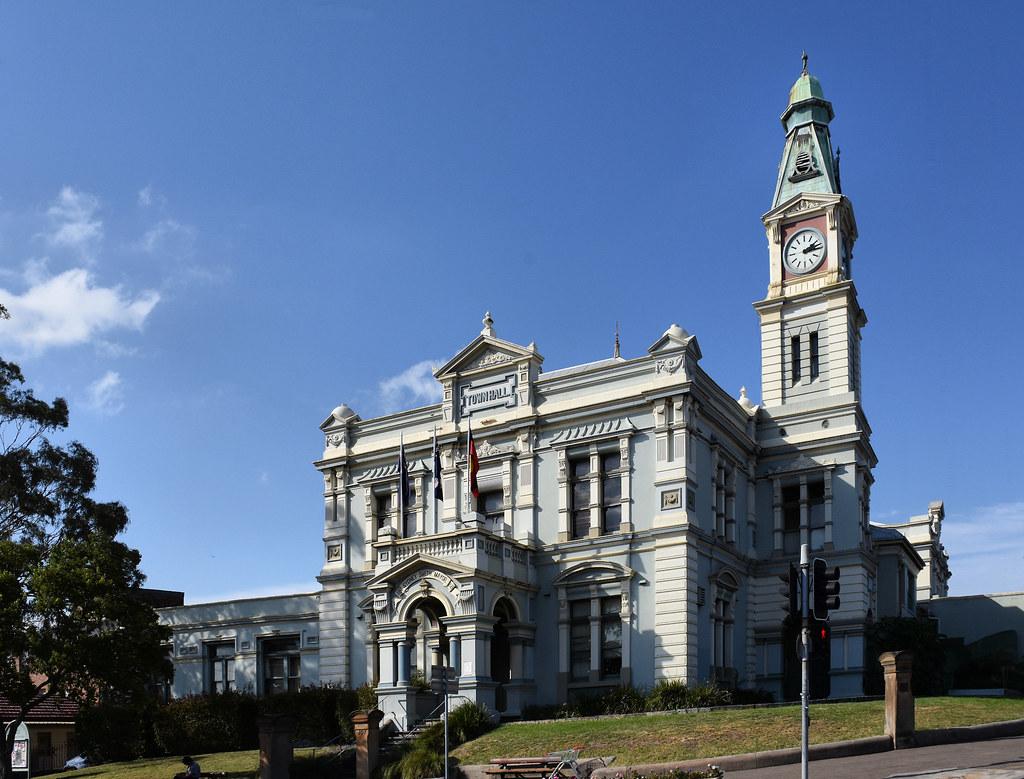 Town Hall, Leichhardt, Sydney, NSW.