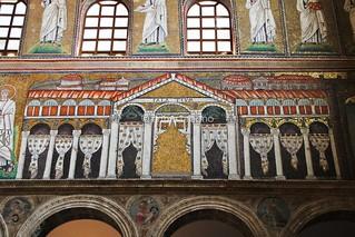 Palatium Mosaic, Sant'Apollinare Nuovo (Ravenna, Italy)