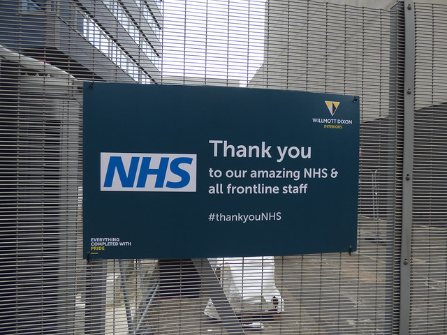 NHS Thank you - Thorp Street, Southside