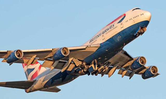 G-CIVH - Boeing 747-436 - LHR