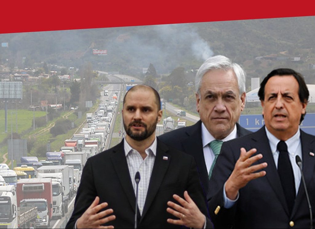 Gobierno pide al parlamento acelerar su agenda represiva y no toca a camioneros que siguen en paro