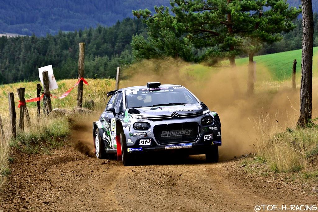 Rallye Terre de Lozère 2020 - Citroen C3 R5 - Franceschi