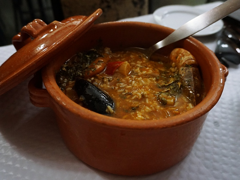Shellfish Rice Azores