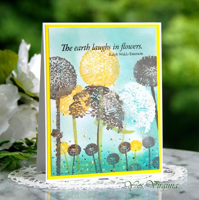 Laugh In Flowers (Virginia Lu)