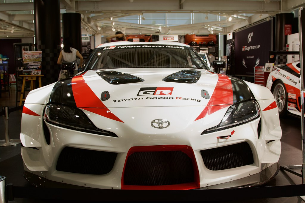GR SUPRA race