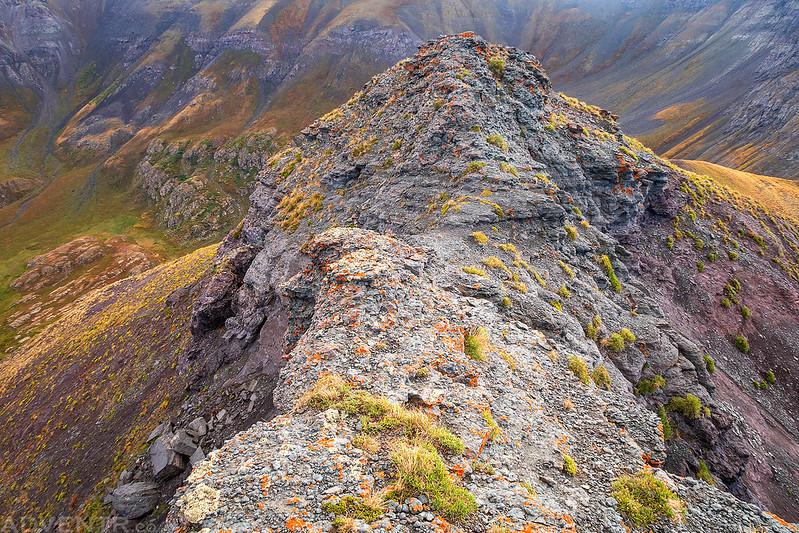 Narrow Rocky Ridge