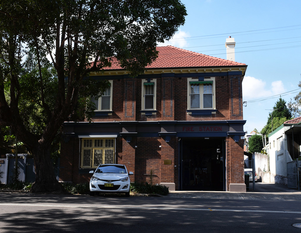 Former Fire Station, Annandale, Sydney, NSW.