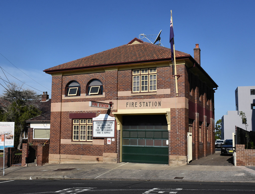 Fire Station, Gladesville, Sydney, NSW.