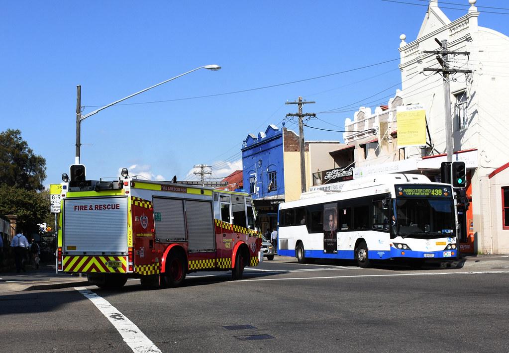 Fire Engine, Leichhardt, Sydney, NSW.