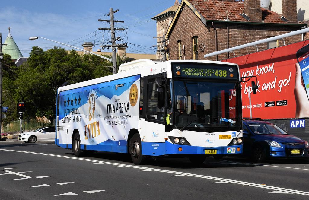 Bus 4928, Leichhardt, Sydney, NSW.