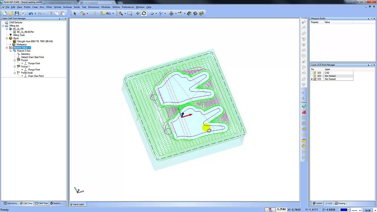 Working with BobCAD-CAM v30 full license