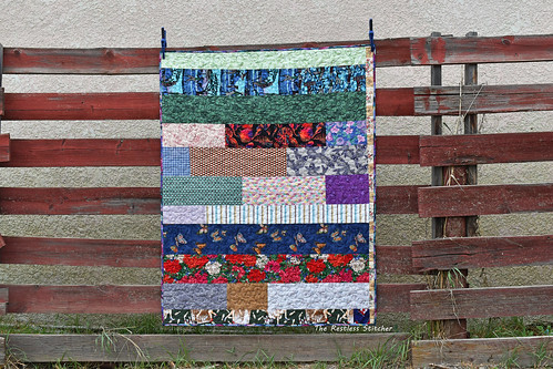 Very Scrappy Donation Quilt