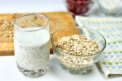 Protein shake with oatmeal