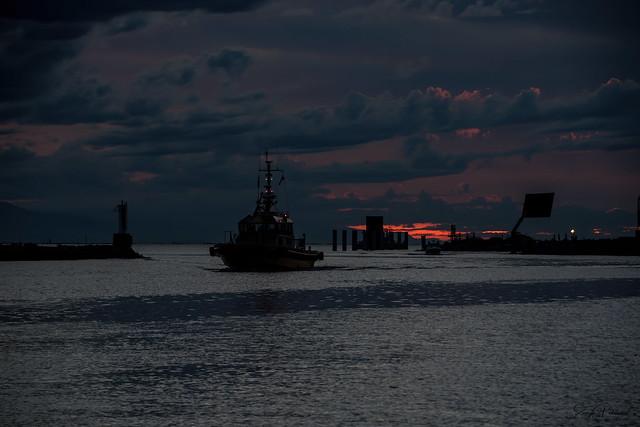 Steveston Harbour/Garry Point Park Sunset