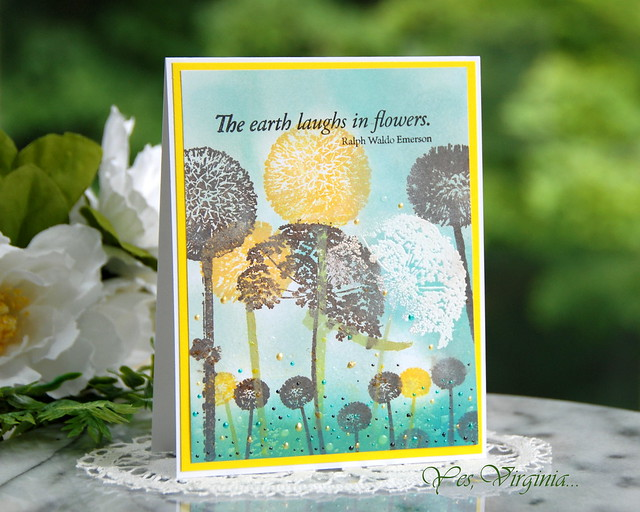 Laugh in Flowers