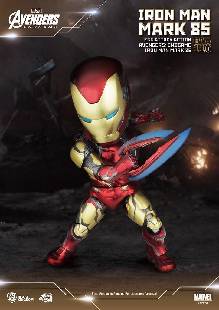 野獸國 EAA 系列《終局之戰》鋼鐵人馬克85 一般版/戰損版 同步登場!
