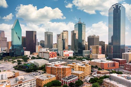 downtown downtowndallas texas tx raulcano skyline dallasskyline dallas dallastexas dal dtx city cityscape drone dji mavicair air mavic aerial landscape