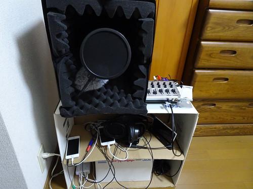 同時録音機材