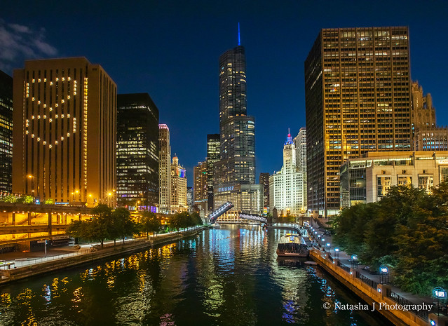 Love Is A Bridge Between Two Hearts ... Chicago River