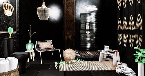Mirror in The Bathroom   {wn} – Balboa Pendant Light (long ...
