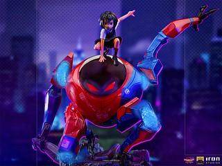 Iron Studios《蜘蛛人:新宇宙》潘妮·帕克&SP//dr 全身雕像