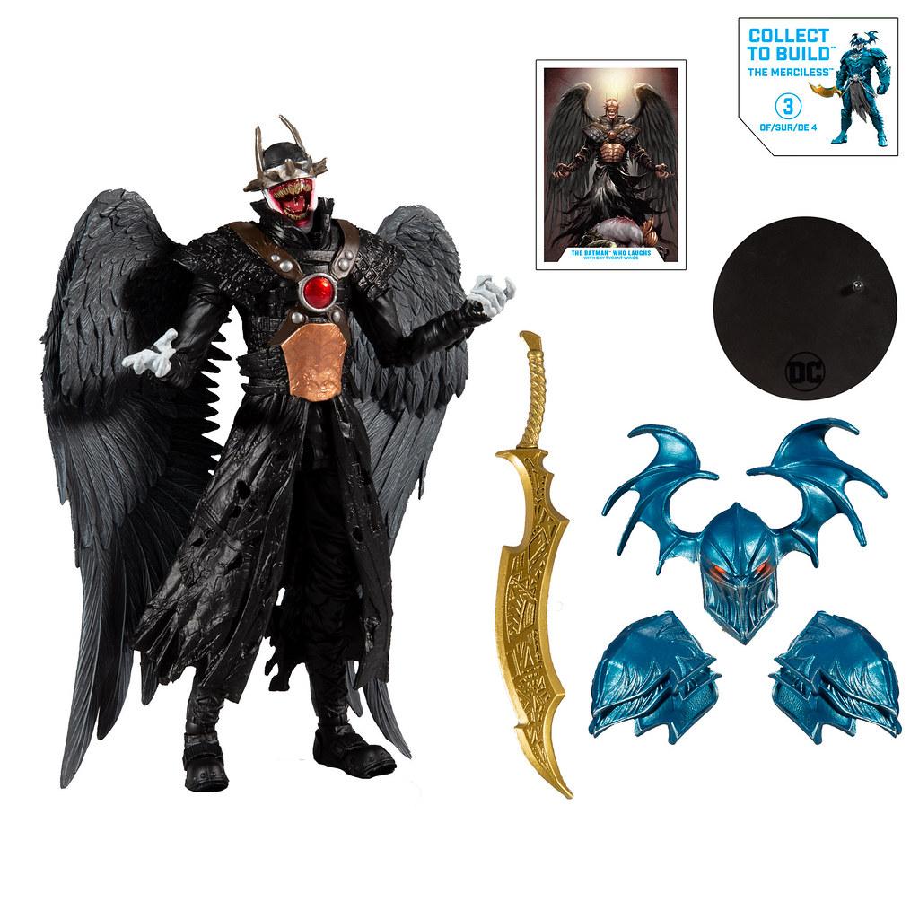 DC Multiverse 系列《Dark Nights: Metal》四款可動人偶發表