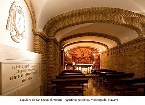Sepulcro de San Ezequiel Moreno