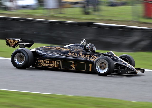 #1 JPS Lotus 91/5 Masters Historic F1 Brands Hatch