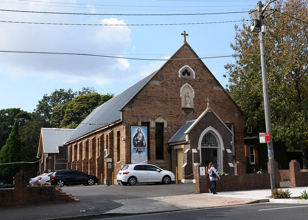 St Joseph's Catholic Church, Camperdown, Sydney, NSW.