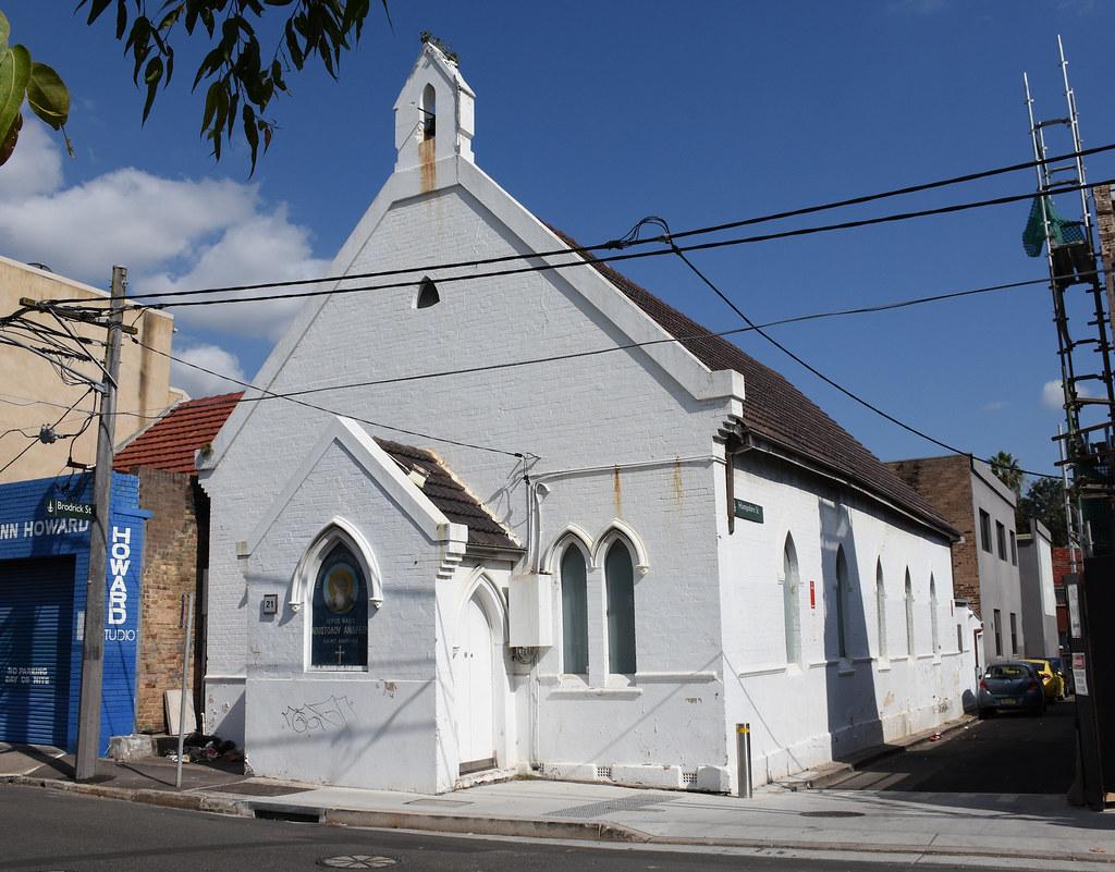 St Andrews Greek Orthodox Church, Camperdown, Sydney, NSW.
