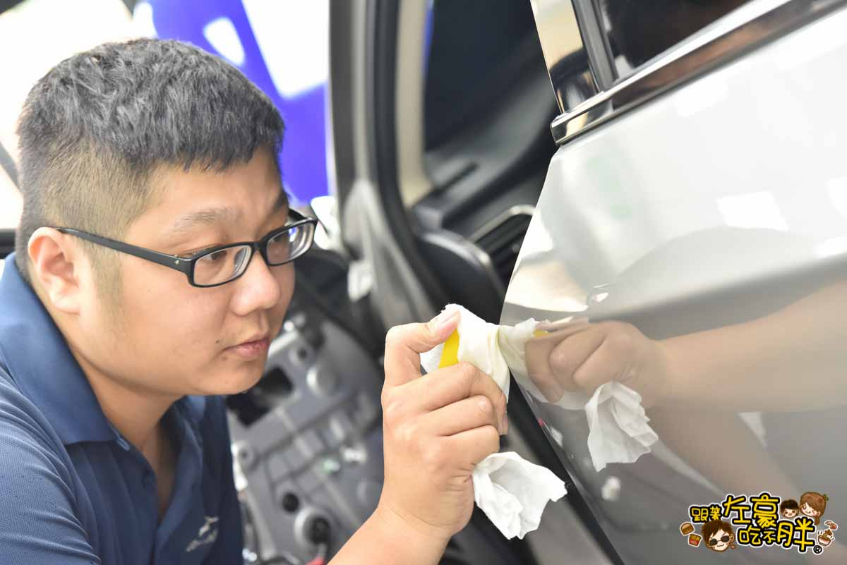 高雄貼膜推薦 膜術魔 專業車體改色包膜-6