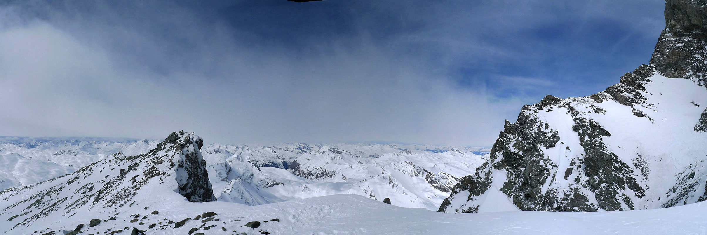 Piz Platta Plattagruppe / Oberhalbstein Switzerland panorama 29