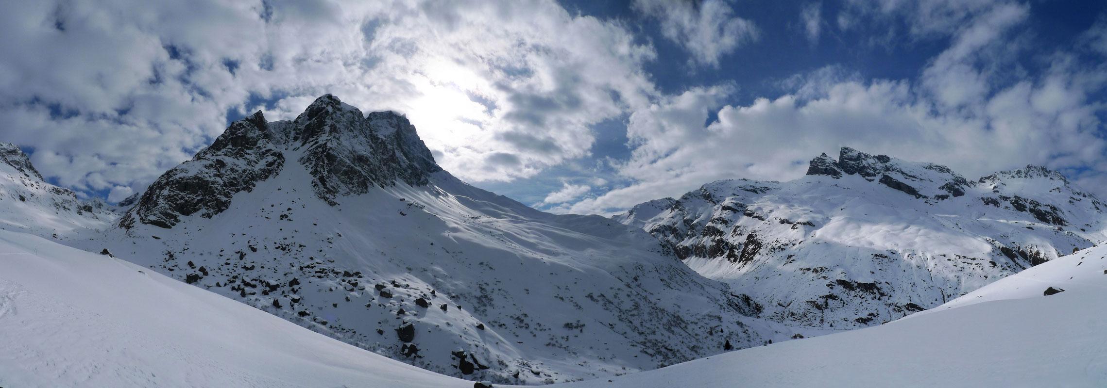 Piz Platta Plattagruppe / Oberhalbstein Switzerland panorama 54