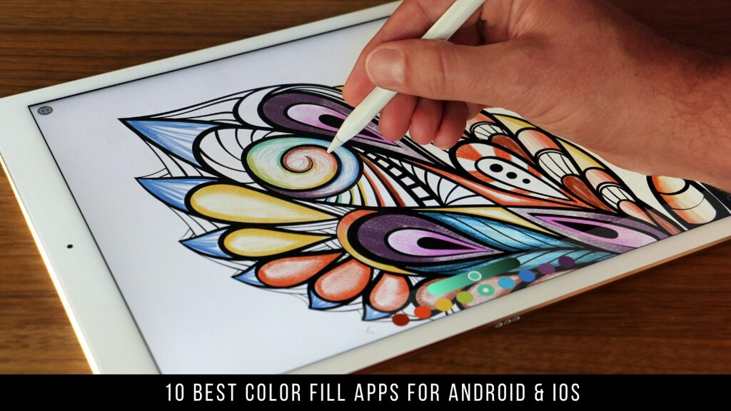 10 Best Color Fill Apps For Android & iOS
