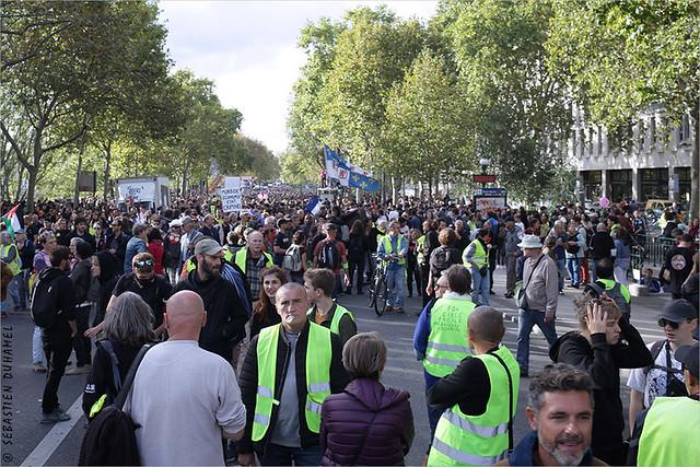 Acte 46 des Gilets jaunes ✔ Paris le 28 sept. 2019  Marche en hommage à Steve Maia Caniço IMG190928_026_©2019 | Fichier Flickr 1000x667Px Fichier d'impression 5610x3740Px-300dpi