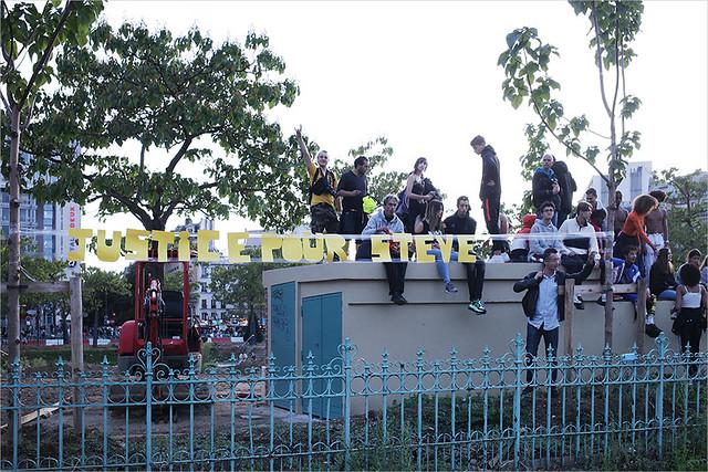 Acte 46 des Gilets jaunes ✔ Paris le 28 sept. 2019  Marche en hommage à Steve Maia Caniço IMG190928_032_©2019 | Fichier Flickr 1000x667Px Fichier d'impression 5610x3740Px-300dpi