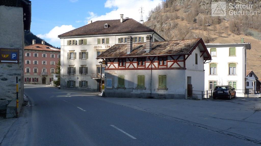 Mulegns - Posthotel Löwen Plattagruppe / Oberhalbstein Švýcarsko foto 01