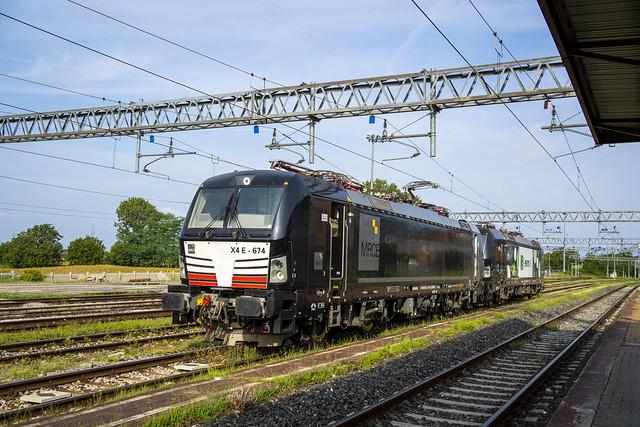 E193.674 + E191.021 EVM Rail Trofarello - Asti