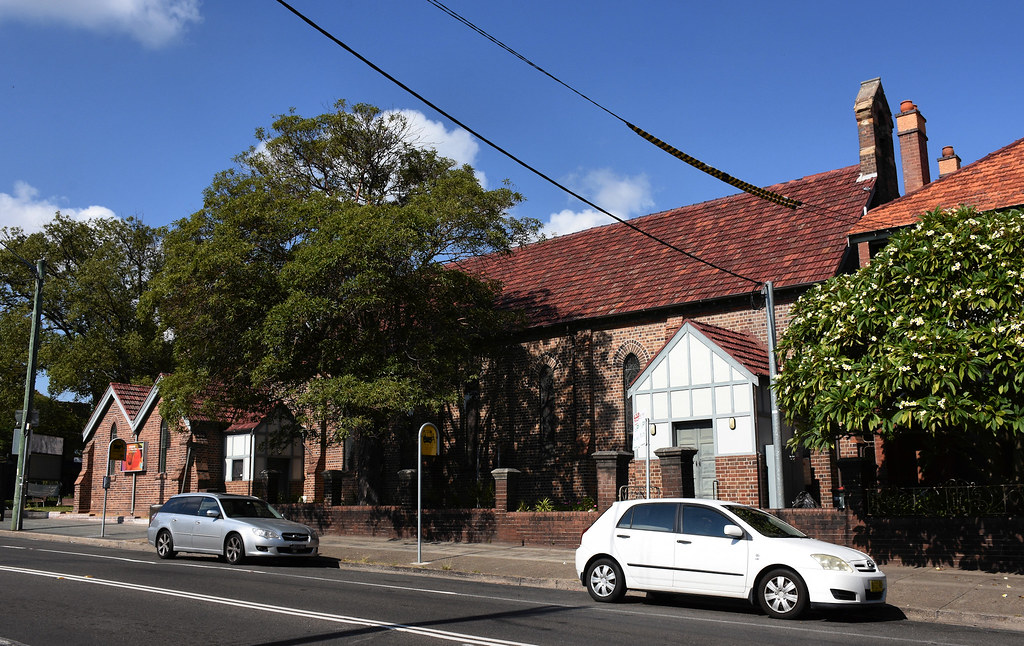 Village Church, Annandale, Sydney, NSW.