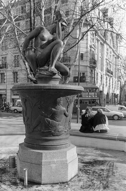 Venus Fountain, Sloane Square, Kensington & Chelsea, 1988 88-3g-23-positive_2400