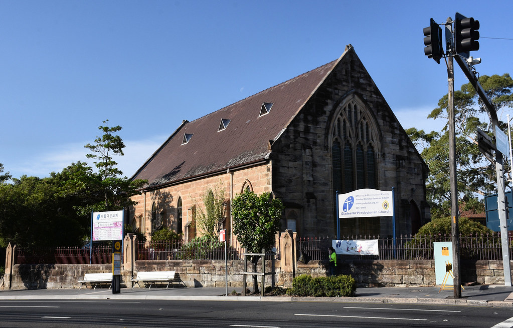 Presbyterian Church, Gladesville, Sydney, NSW.
