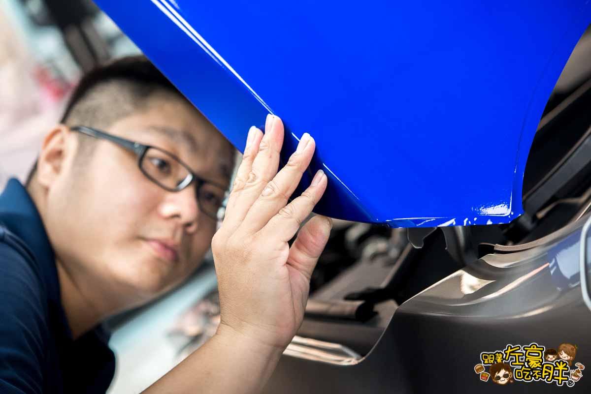 高雄貼膜推薦 膜術魔專業車體改色包膜-45